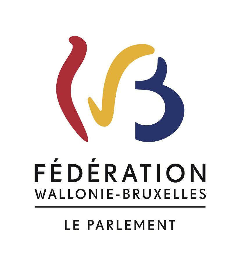 Logo du Parlement de la Fédération Wallonie-Bruxelles